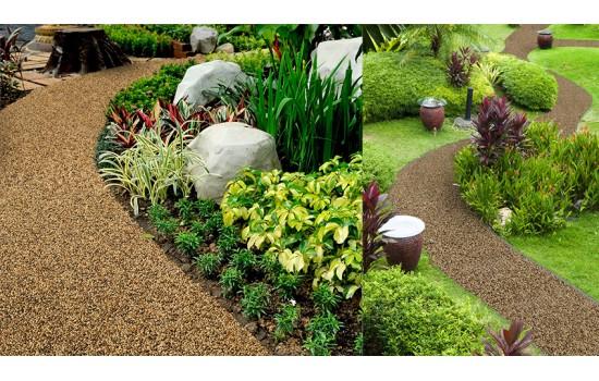 Каменные ковры - актуальная идея ландшафтного дизайна.